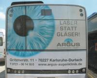 Bus Werbung